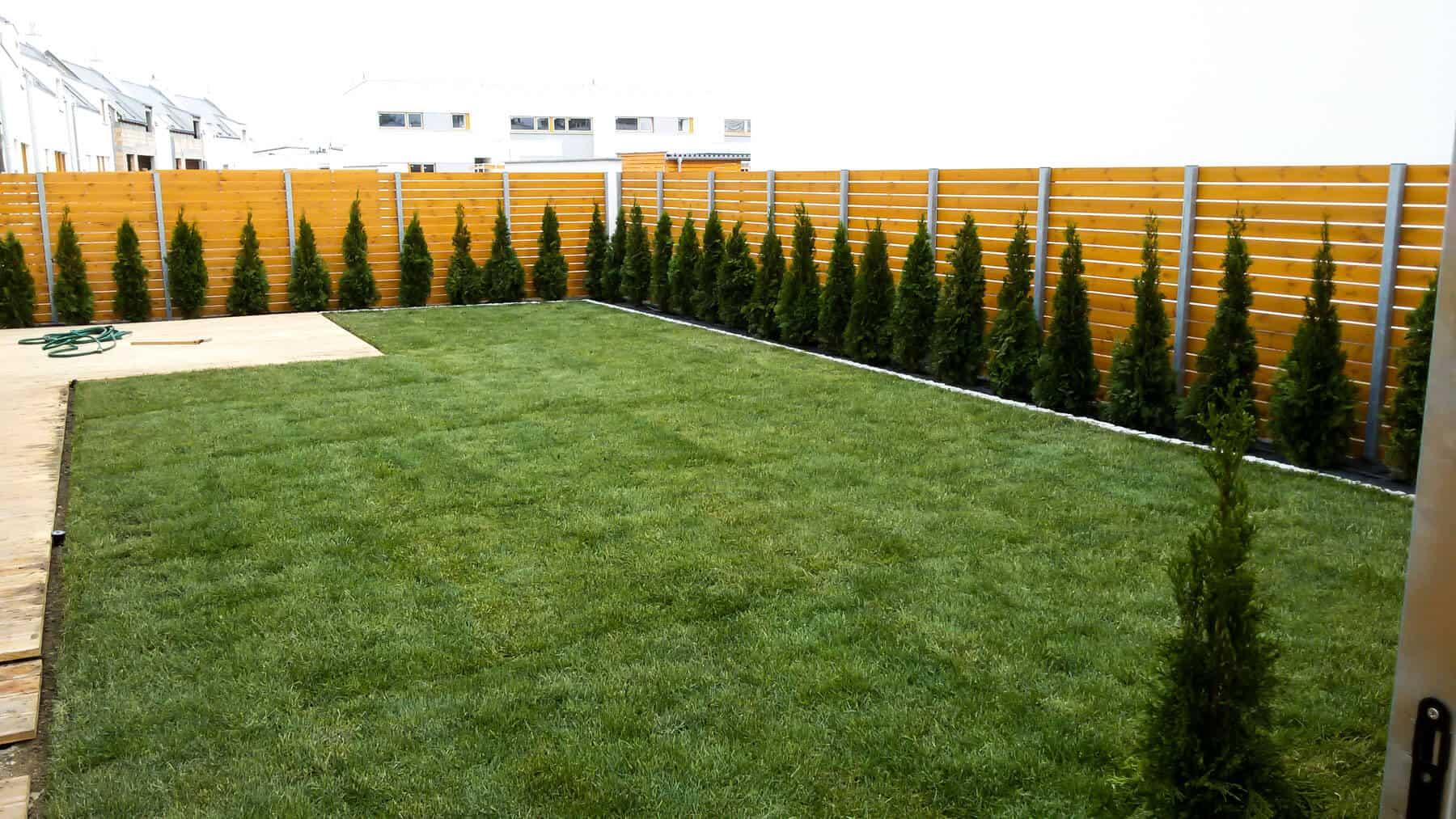 Zakładanie ogrodów Luboń